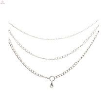 Modelos de colar de aço inoxidável de moda de ouro de 2015
