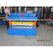 Geprägtes Aluminiumdachblech, das Maschinen herstellt
