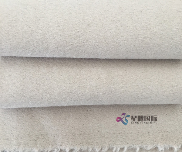 Alpaca Blended Fabric For Winter Jacket