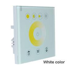 Regulador led del regulador del panel táctil de la temperatura del color LED para la tira del LED DC12V