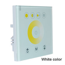 Color Temperature LED Touch Panel Controller led dimmer for DC12V LED strip