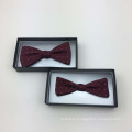 Perfect Knot 100% Handmade Jacquard Woven Custom Silk Bow Tie