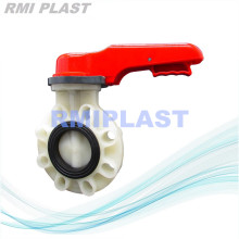 PVDF Butterfly Valve with FPM Seat