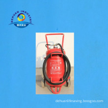 50kg Marine Wheeled Type Dry Powder Fire Extinguisher with CCS and Med Approved
