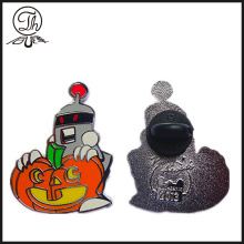 Halloween Pumpkin enamel pin badge
