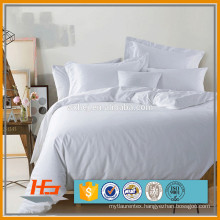 Home Textile White Plain Duvet Cover Sets Comforter Cover