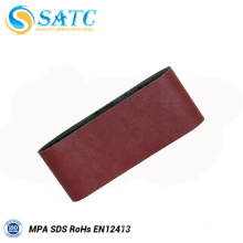 Sanding belt abrasive cleaning sticks for polishing