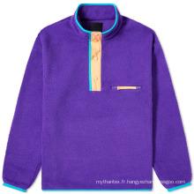 Pull Sherpa Fleece Jackets Gros Custom