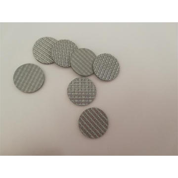 Sintered SS304 wiremesh filter disc