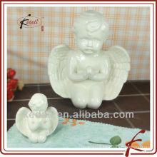 ceramic praying angel figurine BOD023