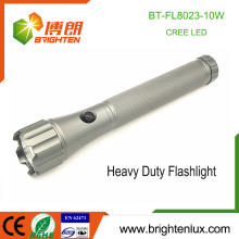 Factory Wholesale 3D battery Used Best Heavy Duty Metal Tactical Handheld Hunting Brightest Aluminum 10w led Flashlight xml t6