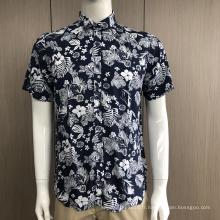 Chemise à manches courtes imprimée pour homme