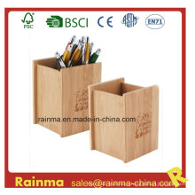 Bamboo Pen Holder for Office Supply