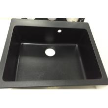 Chine Fabricant carré seul bol évier de granit (HB8208)