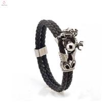 En vrac Custom Men en acier inoxydable Animal Bracelet bijoux