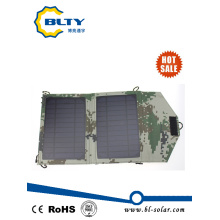 6.5V 7W Camouflage Foldable Solar Charger Bag Solar Power Pack