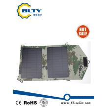 7W carregador solar dobrável para o telefone móvel