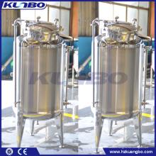 Réservoirs de bière brillants monocouche en acier inoxydable KUNBO