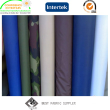 PVC Coated 100% Polyester 190t Taffeta Raincoat Fabric with Military Printed