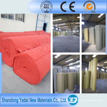 Outside Durable Needle Punch Plain Carpet for Wedding and Celebration