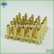round head brass blind rivets