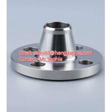 Hengjia acier au carbone ASTM A105 bride de cou de soudure
