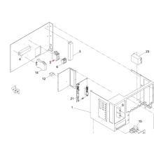 Contator do ímã de Panasonic SMT para a máquina da impressora da tela de Sp60p-M (KXFP6EBQA00)