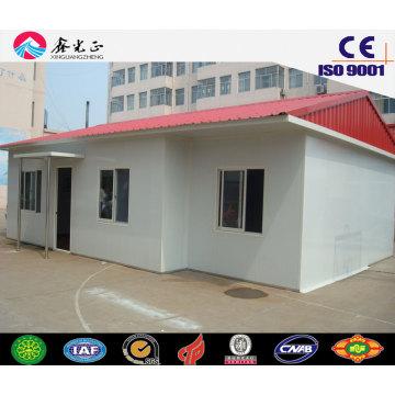 Casa prefabricada minúscula / estructura de acero ligera prefab House (JW-16233)