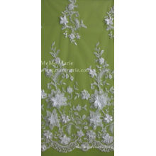 3D Lace with Flowers Embroidery Lace Textile Bridal Lace 52'' No.CA105AB