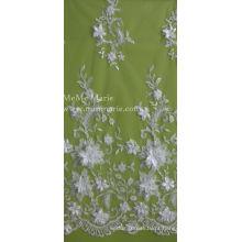 Laço em 3D com flores Bordados Lace Textile Bridal Lace 52 '' No.CA105AB