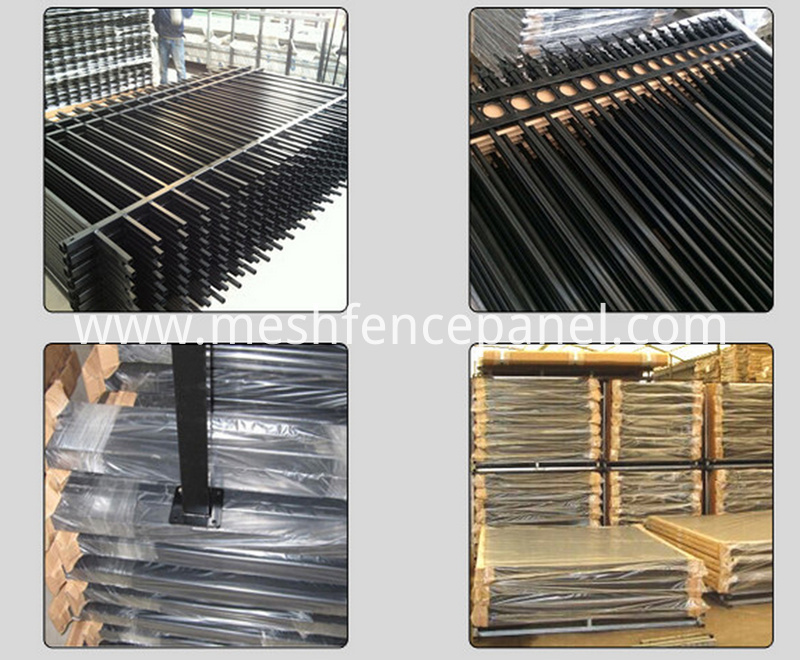Aluminum fence packaging