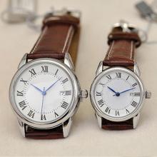 Relógio de aço inoxidável de moda de quartzo de estilo novo para amantes Hl-Bg-106
