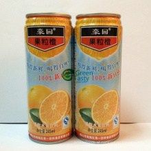 Orange Pulpy Juice with Brc Standard 250ml