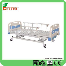 Hospital bed with ABS Bedboard hospital bed cradle
