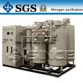 Générateur d'azote avec système PSA et contrôle PLC