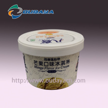 Customized PP Ice Cream Packaging Cup Yoghurt Container