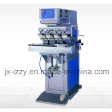 6 Color Pad Printing Machine with Shuttle Plate