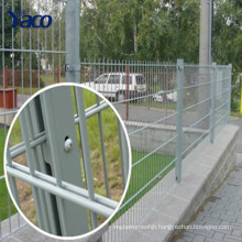 2D Double Wire Fence 656 868 Mesh Fence Panels Manufacture