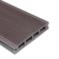 Waterproof WPC Hollow Decking Four Holes Plank