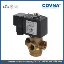 3-Wege-Magnetventil 12v, Messing-Wasser-Ventil