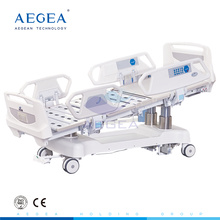 AG-BR002C Lujosa función de ponderación UCI sala de cuidados intensivos camas eléctricas del hospital