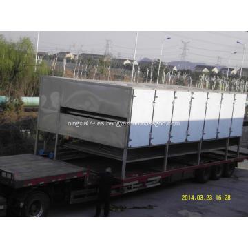 Secador de banda de malla / Máquinas de frutas secas de tres capas