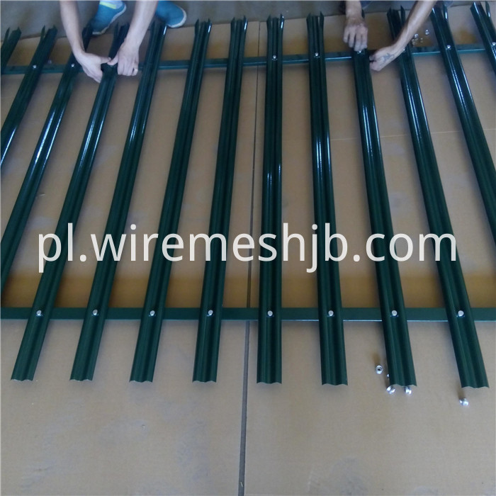 Triple Pointed Palisade Fencing