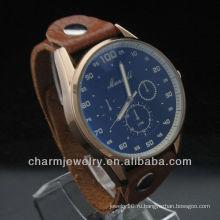 Мода Спорт Стиль кожаные часы Оптовые кожа часы WL-040