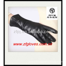 singal snap Ladies dress leather gloves