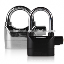 New product Plastic Cover waterproof Function Siren Alarm padlock