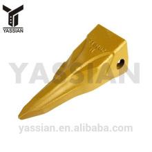 China Export gute Qualität hyundai hitachi Eimer Zähne 7T3402TL für Bagger