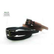 Skinny PU Fashion Jean Belt for Lady with Wide Ring (KY5355)