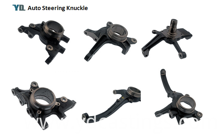 Cast Iron Auto Steering Knuckle