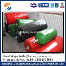 ship docking EVA foam filled fender without chain and tyre net